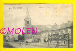 LA GRAND PLACE Café Poudey Noiret Et Kiosque  : CUL-DES-SARTS    A175 - Cul-des-Sarts