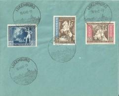 Besatzung Deutsches Reich Europäischer Postkongress Wien 1942 WWII Luxemburg - Besetzungen