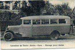76 - Yvetot - Autos -cars ; Location De Taxis : Hotel- Restaurant Fleury , Rue De La République. - Yvetot