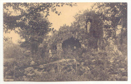 E3489  -  FOURON - LE - COMTE  -  Pensionnat Des Ursulines  -  Grotte De ND De Lourdes - Voeren