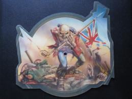 Shape Picture Disc Rare - Iron Maiden - The Trooper, UK Import (1983) EMIP5397 - Hard Rock & Metal