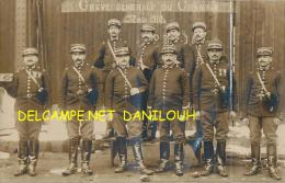42 // CHAMBON  CARTE PHOTO     GREVE GENERALE DU CHAMBON   MARS 1910  ** - France