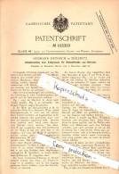 Original Patentschrift - H. Heinrich In Döllnitz B. Schkopau I.S., 1898 , Schälmaschine Für Getreide , Landwirtschaft !! - Maschinen