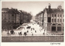 Thematiques Suisse Genéve Editions Lightmotif  La Rue De La Corraterie Vers 1890 - GE Genève