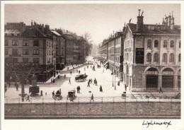 Thematiques Suisse Genéve Editions Lightmotif  La Rue De La Corraterie Vers 1890 - GE Geneva