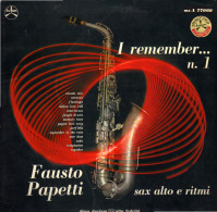 * LP *  FAUSTO PAPETTI - I REMEMBER No.1 (Italy 1967) - Instrumentaal