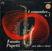 * LP *  FAUSTO PAPETTI - I REMEMBER No.1 (Italy 1967) - Instrumental