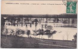 Carrières Sous Bois - Crue De La Seine 31 Janvier 1910 - Le Stand - La Pompe Du Château Du Val - Ile - France