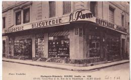ALES - Bijouterie ROURE , 179- 181 Grand'Rue Et 31 Rue De La République. - Alès