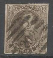 Belgique - Médaillon N°10 - Obl. P202 Fleron - Margé - Planche I