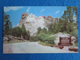 "Mt. Rushmore National Memorial ""Shrine Of Democracy"" Black Hills, South Dakota - Mount Rushmore"