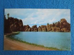 Sylvan Lake In Custer State Park, Black Hills, South Dakota - Mount Rushmore