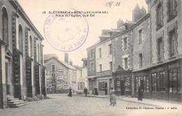 SAINT ETIENNE De MONTLUC -  Place De L'église (sud Est ) + Cachet Controle De La Presse De Nantes - Saint Etienne De Montluc