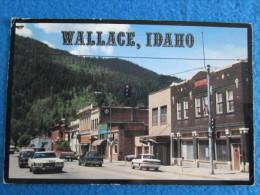 Wallace, Idaho. The Silver Capital Of The World. - Etats-Unis