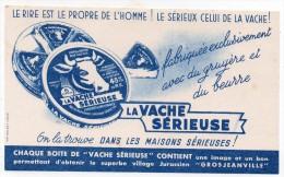 Buvard - La Vache Sérieuse - Grosjeanville - Produits Laitiers
