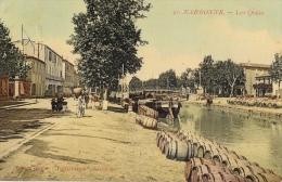 """Narbonne - Les Quais - Tonneaux Au Bord De L'eau - Edition Spéciale """"Paris-France"""" - Narbonne"""