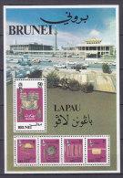 BRUNEI  Block 3 Postfrisch * - Brunei (1984-...)