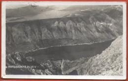 KOTOR ( Cattaro ) - Kotorski Zaljev ( Montenegro ) * Travelled 1930. * Boka Kotorska Bocche Di Cattaro Crna Gora - Montenegro