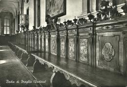 TEOLO  PADOVA  Badia Di Praglia  Refettorio  Dossali E Tavoli  Tassata Annullo Blu - Padova (Padua)
