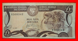 ★NYMPH MOSAIC★ CYPRUS★ 1 POUND 1987! LOW START ★ NO RESERVE! - Cyprus