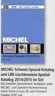 MICHEL Schweiz/ Liechtenstein Spezial Briefmarken Kataloge 2015 Neu 70€ UNO Genf Internationale Ämter Catalogue Helvetia - Andere Sammlungen