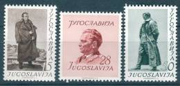 Yugoslavia Republic, 60th Birthday Of President Tito 1952 Mi#693-695, Mint Never Hinged - 1945-1992 Socialistische Federale Republiek Joegoslavië