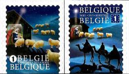 Belgium - 2013 - Christmas - Mint Self-adhesive Booklet Stamp Set - Belgium