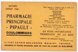 Buvard - Pharmacie Pipault - Coulommiers - La Plus Importante Pharmacie De La Brie - Non Classificati