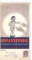 IRRASTERINE BYLA - VITAMINE D ANTIRACHITIQUE 11 X 21 CM - Pubblicitari