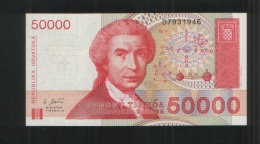 CROATIA 50 000 Hrvatskih Dinara 50000 1993 - Croatia