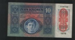 HUNGARA 10 Korona 1915 - Hungary