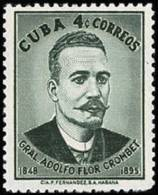 Cuba 0499 ** Crombet. 1958 - Cuba