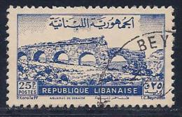 Lebanon, Scott # 218 Used Zubaida Aqueduct, 1948 - Liban
