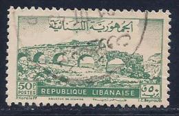 Lebanon, Scott # 219 Used Zubaida Aqueduct, 1948 - Lebanon
