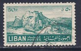 Lebanon, Scott # 264 Used Beaufort Castle, 1952 - Lebanon