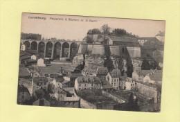 Luxembourg - Passerelle Et Rochers Du St Esprit - Luxemburgo - Ciudad