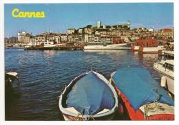 06 - AU SOLEIL DE LA COTE D´AZUR - CANNES - Vue Du Port - Le Suquet - éd. YPA N° 325 - Cannes