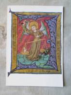 Neustift Bei Brixen  Bibliothek  Library - Der Seelenwäger  - Initiale - Codex      D122801 - Bibliothèques