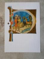 HUNGARY - Képes Krónika  XIV Century  -codex  -  Vision Of The Princes Geza And László  D122807 - Hongrie