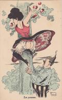 """Cpa  """"Les Pommes"""". Georges Mouton - Illustrateurs & Photographes"""