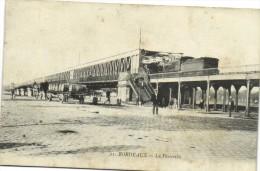 BORDEAUX  La Passerelle TRAIN  Attelage Bon Plan Recto Verso - Bordeaux