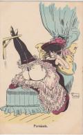 "Cpa  ""Farniente"". Georges Mouton - Illustrateurs & Photographes"