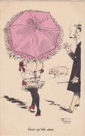 """Cpa  """"Ceux Qu´elle Aime"""". Georges Mouton - Beauté Féminine D'autrefois < 1920"""