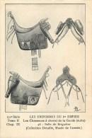 Uniforme Du 1° Empire - ** Selle De Brigadier Des Chasseurs à Cheval De La Garde **-  Carte N° Série 151 - R. Louis Ill. - Uniformi