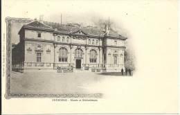 38 - GRENOBLE - Isère - Musée Et Bibliothèque - Grenoble