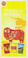 New Zealand 2015 Brochure About Year Of The Sheep - Lunar Year - Nueva Zelanda