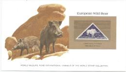 Tchad 1962 TX 30 ** Carte WWF - Sangliers - Phacochère D' Oudingueur - Stamps