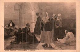 JEANNE LOMBARD PRISONNIERES HUGUENOTES CIRCULEE 1943 - Peintures & Tableaux