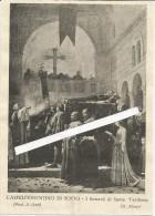 Castelfiorentino Di Sotto, Firenze,1931, I Funerali Di Santa Verdiana, Cm. 10 X 13. - Historical Documents