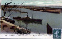 """LE HAVRE ++ Le Port Et Les Bassins - """"L'Augustin-Normand"""" Sortant ++ - Le Havre"""